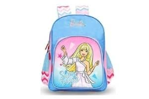 Barbie Polyester Blue School Backpack