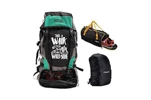 Mufubu Presents Get Unbarred Rucksack for Trekking