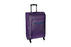 Aristocrat Nile Polyester Purple Suitcase
