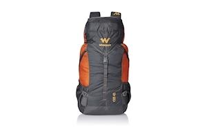 Wildcraft Grey and Orange Rucksack